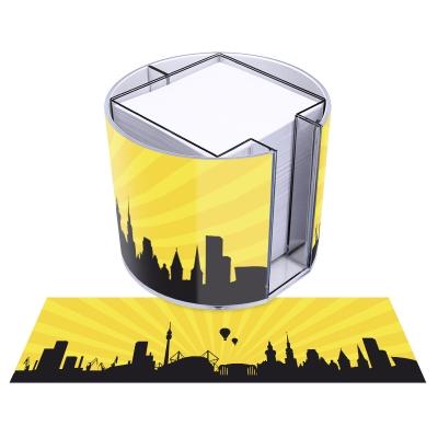 runde Zettelbox - Motiv Dortmund